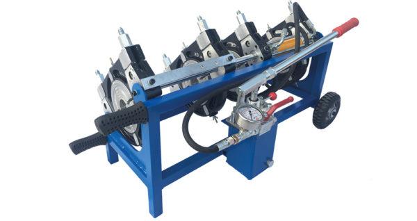 دستگاه جوش پلی اتیلن نیمه هیدرولیک 50-160 میلیمتر (Full فشارقوی)
